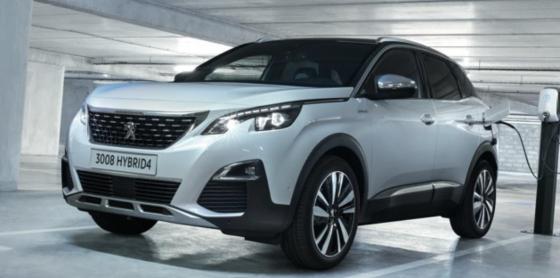 Peugeot 3008 Plugin Hybrid on Charge